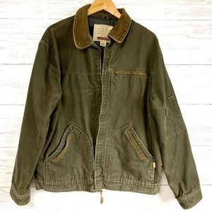 Duck Head Outdoor Canvas Zippered Jacket